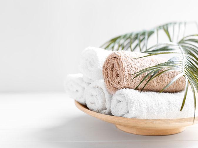 Frottierwäsche Handtücher